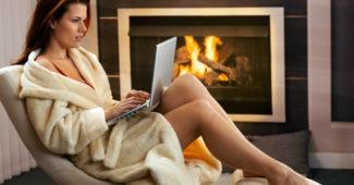 Как научиться… ходить на работу в халате и тапочках интернет