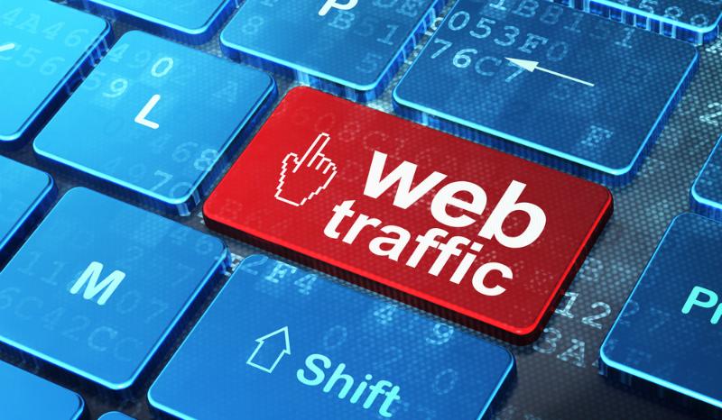 Сайт, который не зависит от поискового трафика посетители