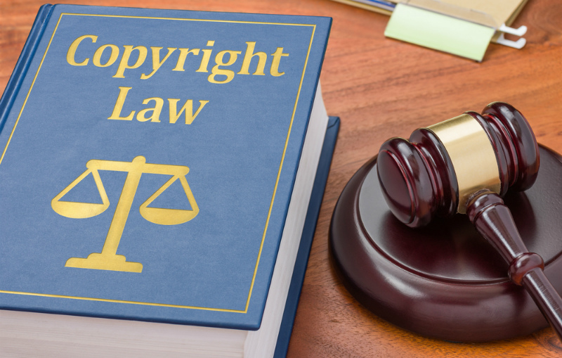 Авторское право на контент можно защитить документы